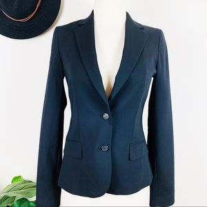 Club Monaco black suit blazer